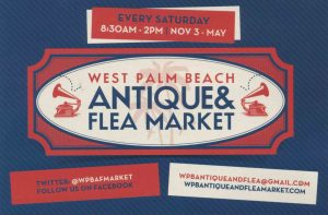 West Palm Beach Antiques & Flea Market @ CLEMATIS STREET DOWNTOWN WPB